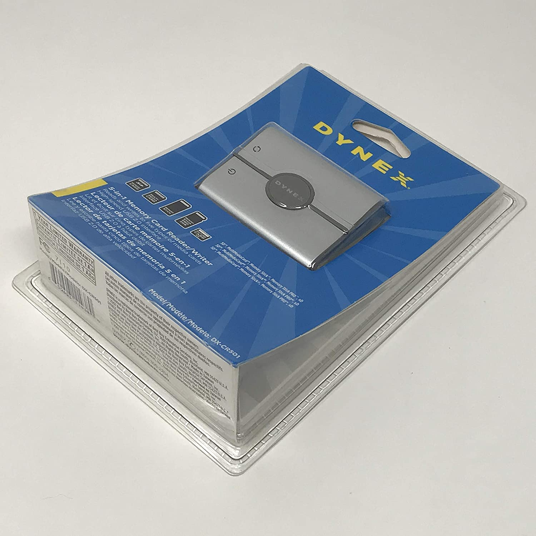 Dynex 5-in1 Memory Card Reader/Writer DX-CR501