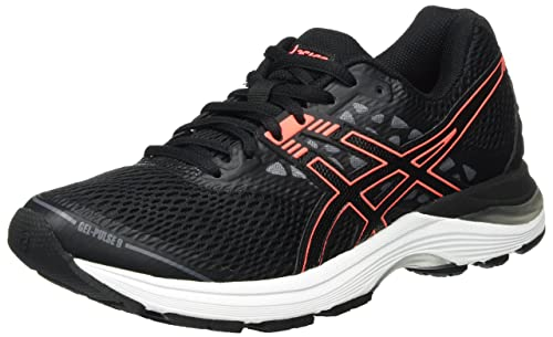 Asics Gel Pulse 9 Scarpe Running Donna Nero Black/Flash i9h