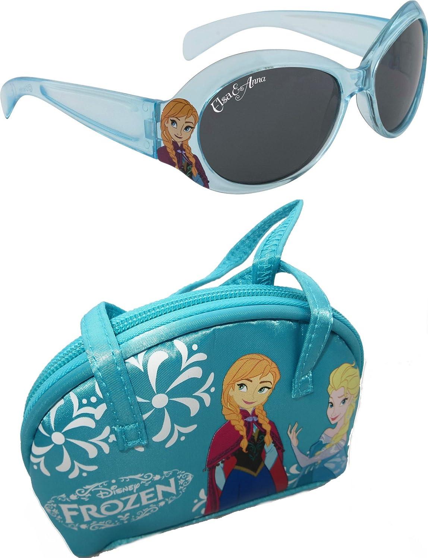 Disney Frozen Girl's Sunglasses & Case Set Alfred Franks FROZENPACK1