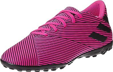 Ópera Conversacional espontáneo  adidas Nemeziz 19.4 TF, Color Rosa Flúor/Negro: Amazon.es: Zapatos y  complementos