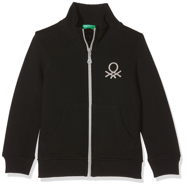 United Colors of Benetton Jungen Reißverschluss Sweatshirt,