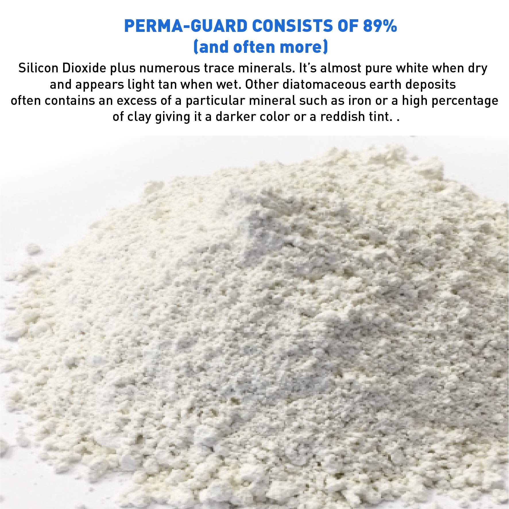 Perma Guard EGP-DE-50C erma Guard Diatomaceous Earth-DE Food Grade, 50 lb, White by Perma-Guard (Image #3)