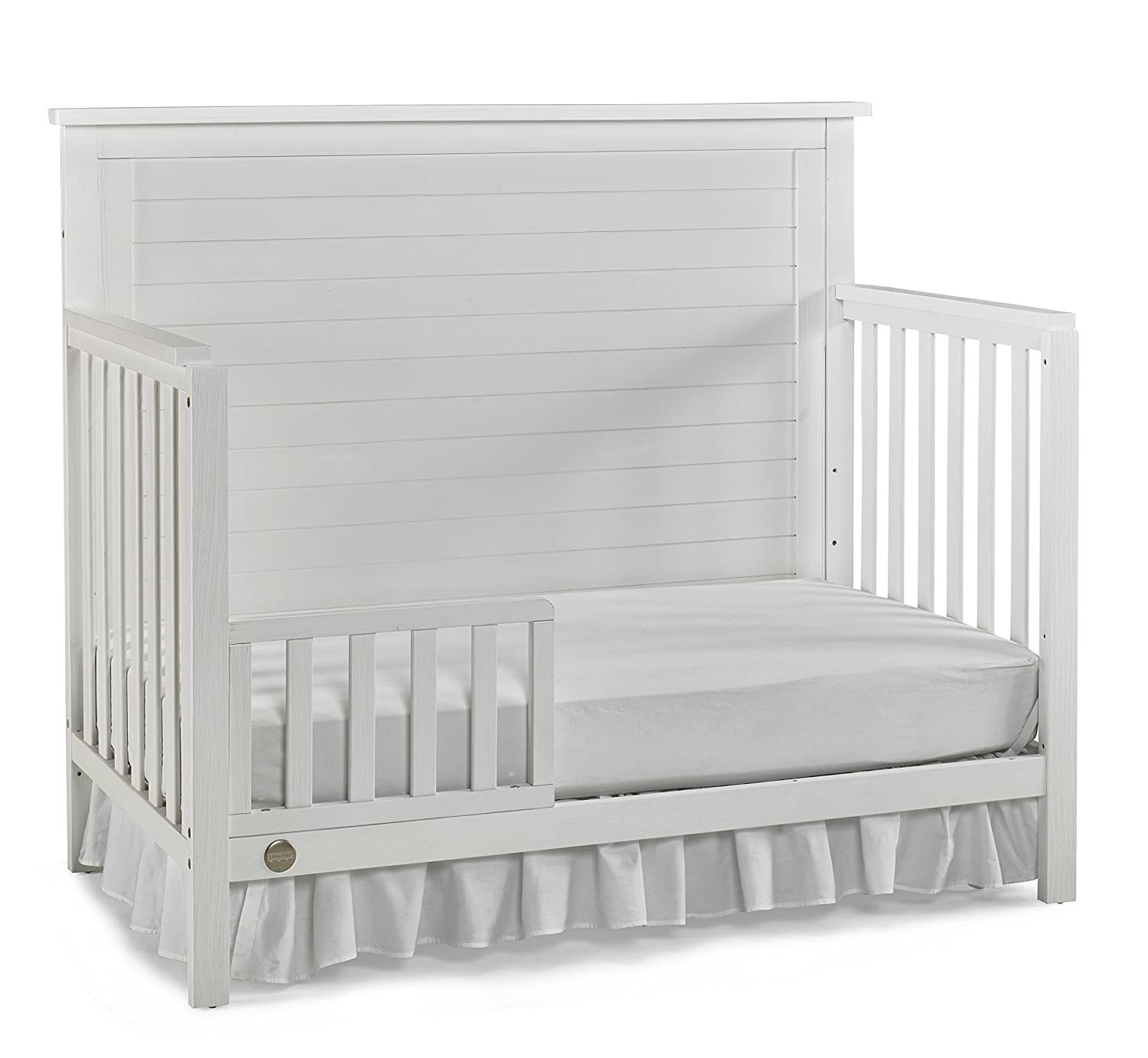 Fisher-Price Amherst 4-in-1 Convertible Crib Barn Grey