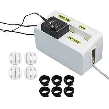 HeHe Kabelbox Sicherheit Steckdose Box Elektrisches Kabel Box Power ...