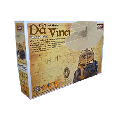 Academy Da Vinci Machines Series Helicopter - #18159 by Academy Models: Toys & Games