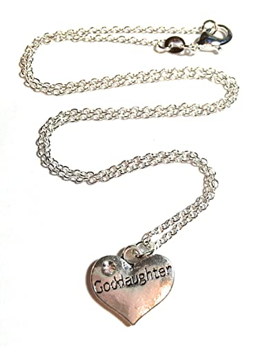 Fizzybutton Gifts Goddaughter Necklace In Gift Box