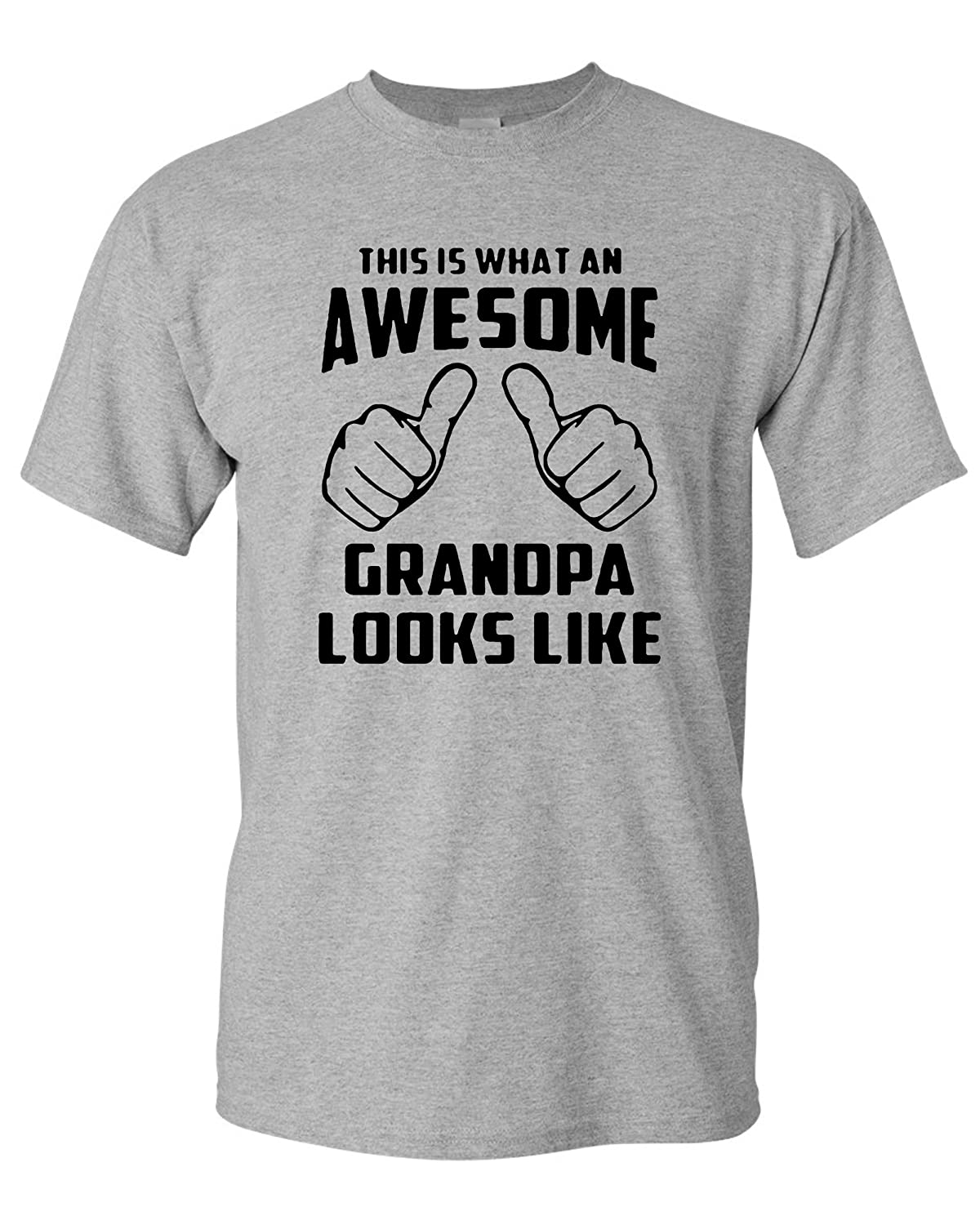 This Is What An Awesome Grandpa Looks Like Adult Tshirt