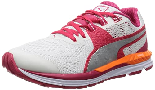 Puma Speed 600 Ignite, Women's Competition Running, Multicolor (White/Rose  Red Silver