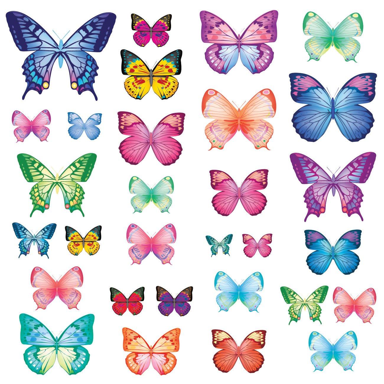 Vinilo Decorativo Pared [78N2Y2ZW] mariposas