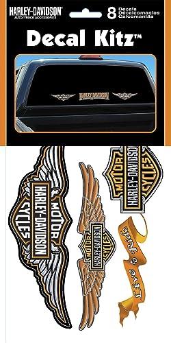 Chroma Graphics 3900 Harley-Davidson Vinyl Decal Kit – 8piece