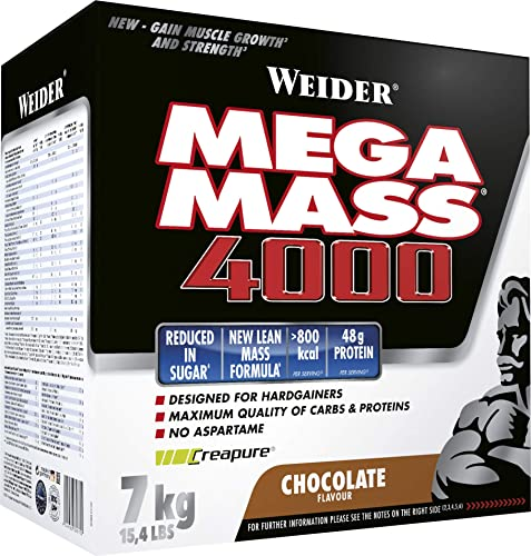 Weider Nutrition Mega Mass 4000 Chocolate 7000g