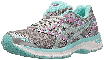 2520591e1ebaf ASICS Women's Gel-Excite 4 Running Shoe, Aluminum/Silver/Aqua Splash,