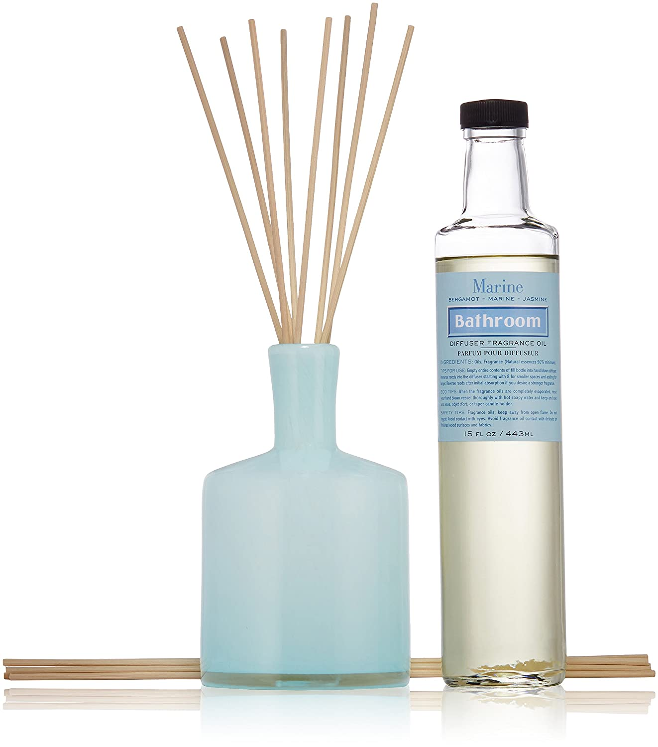 LAFCO Reed Diffuser Bathroom Marine, 15 Fl Oz
