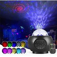 Projektor LED typu gwiaździste niebo, lampka nocna, z głośnikiem Bluetooth, na imprezę, Boże Narodzenie, Wielkanoc…