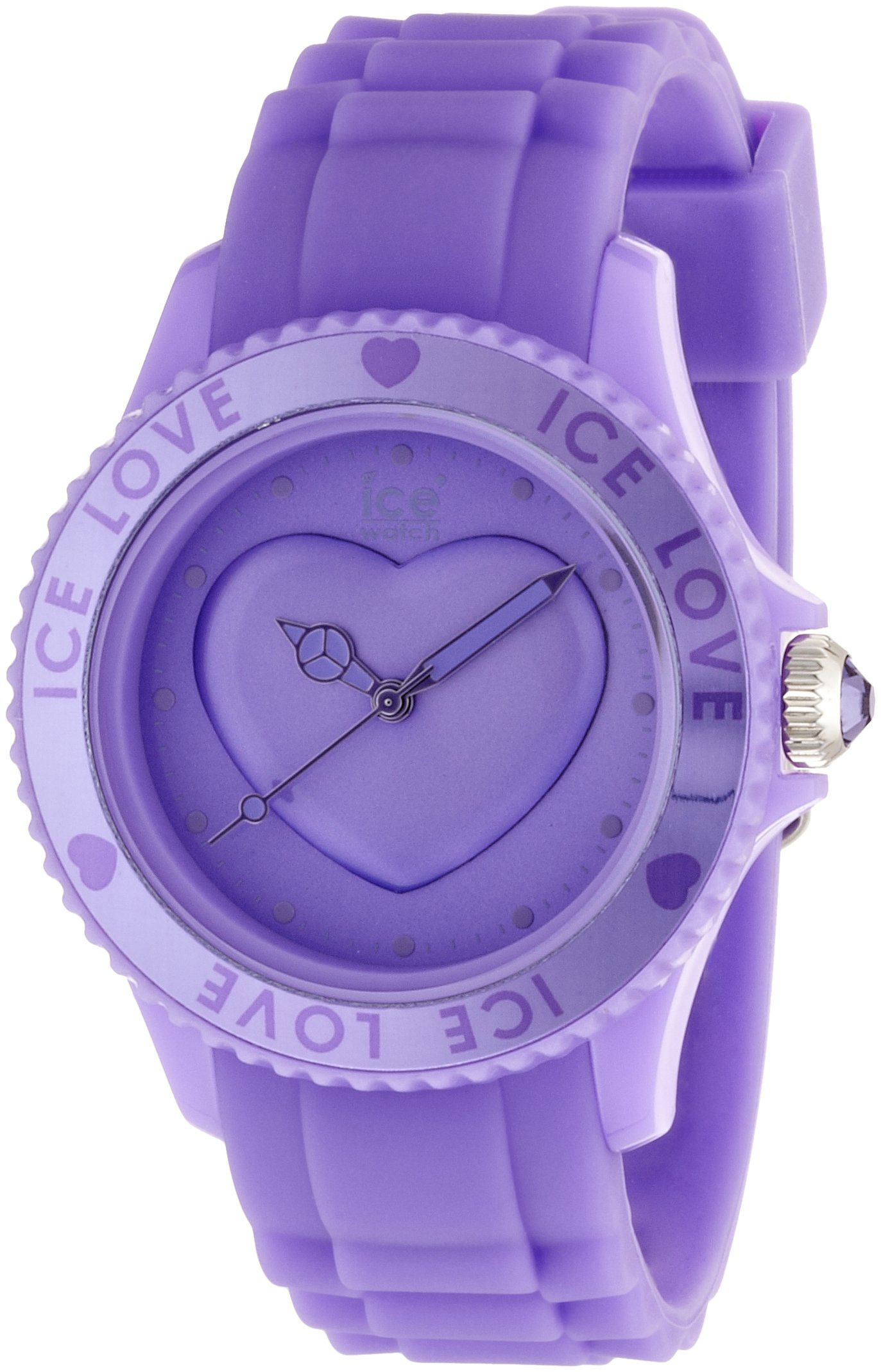 Ice-Watch Ice-Love Lavender Dial Unisex watch #LO.LR.U.S.11