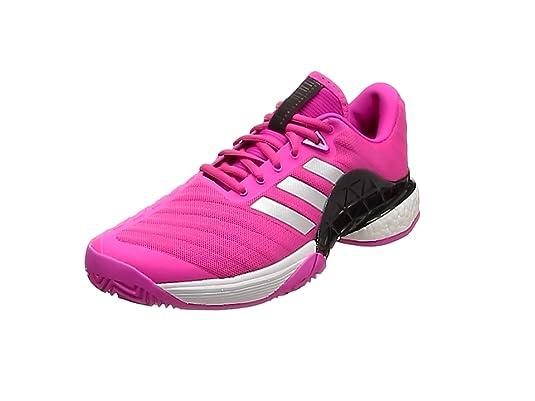 Adidas Barricade 2018 Boost, Zapatillas de Tenis para Hombre, (Rosa 000),