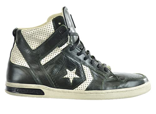 on sale ed474 e4e9b Converse X John Varvatos Weapon Mens Sneakers Leather Mid Green 136684c-11.5