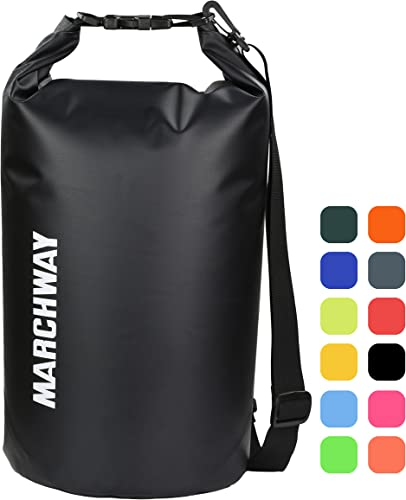 MARCHWAY Floating Waterproof Dry Bag 5L/10L/20L/30L/40L