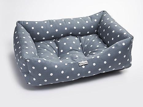 Chilli® - Cama de perro lavable con diseño de lunares, color mediano