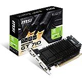 MSI GAMING GeForce GT 710 2GB GDDR5 64-bit DirectX 12 Low Profile Graphic Card (GT 710 2GD5H LP)