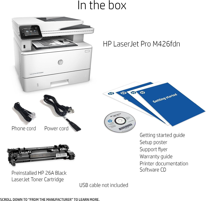 HP LaserJet Pro MFP M426fdn: Amazon.es: Informática