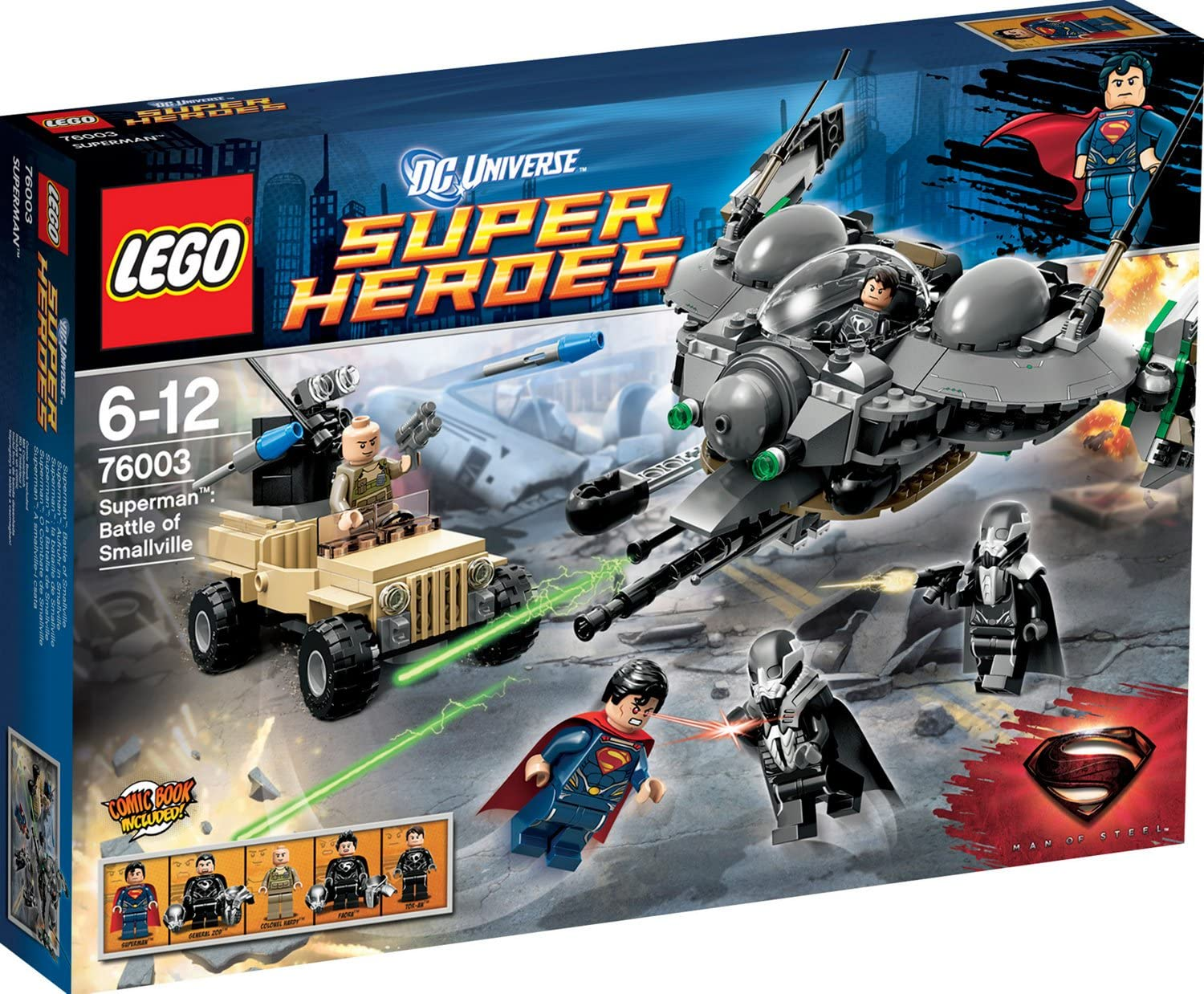LEGO Super Heroes Superman Battle of Smallville w/ Minifigures | 76003