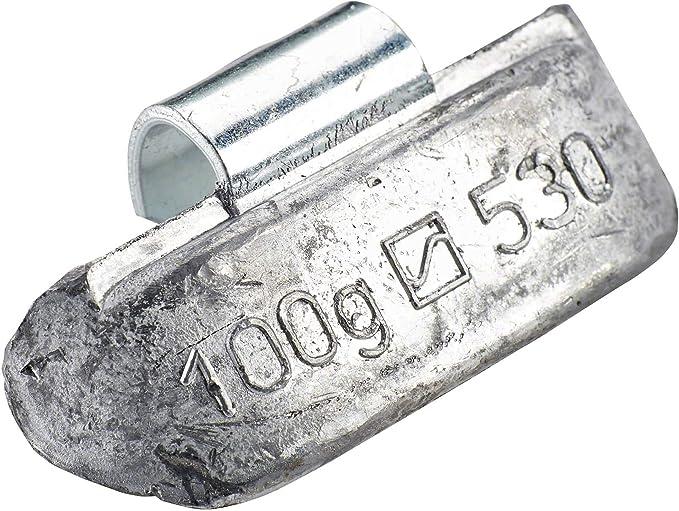 10x Auswuchtgewicht Lkw Stahlfelgen Typ 530 100 G Hofmann Power Weight Schlaggewichte Stahl Felgen Auto