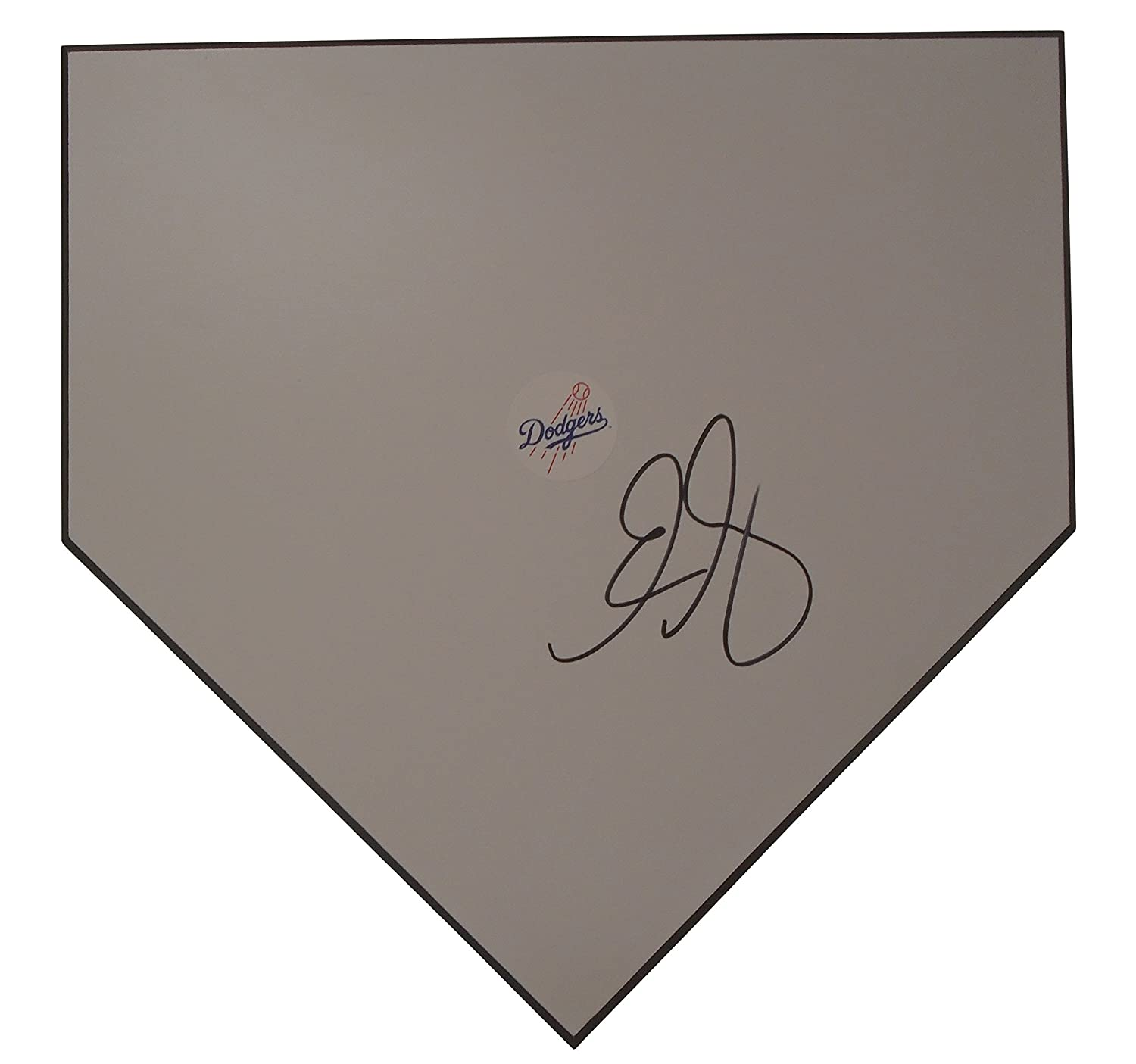 Los Angeles Dodgers Eric Gagne Autographed Hand Signed Baseball Home Plate Base with Proof Photo of Signing and COA- LA Dodgers Collectibles Southwestconnection-Memorabilia