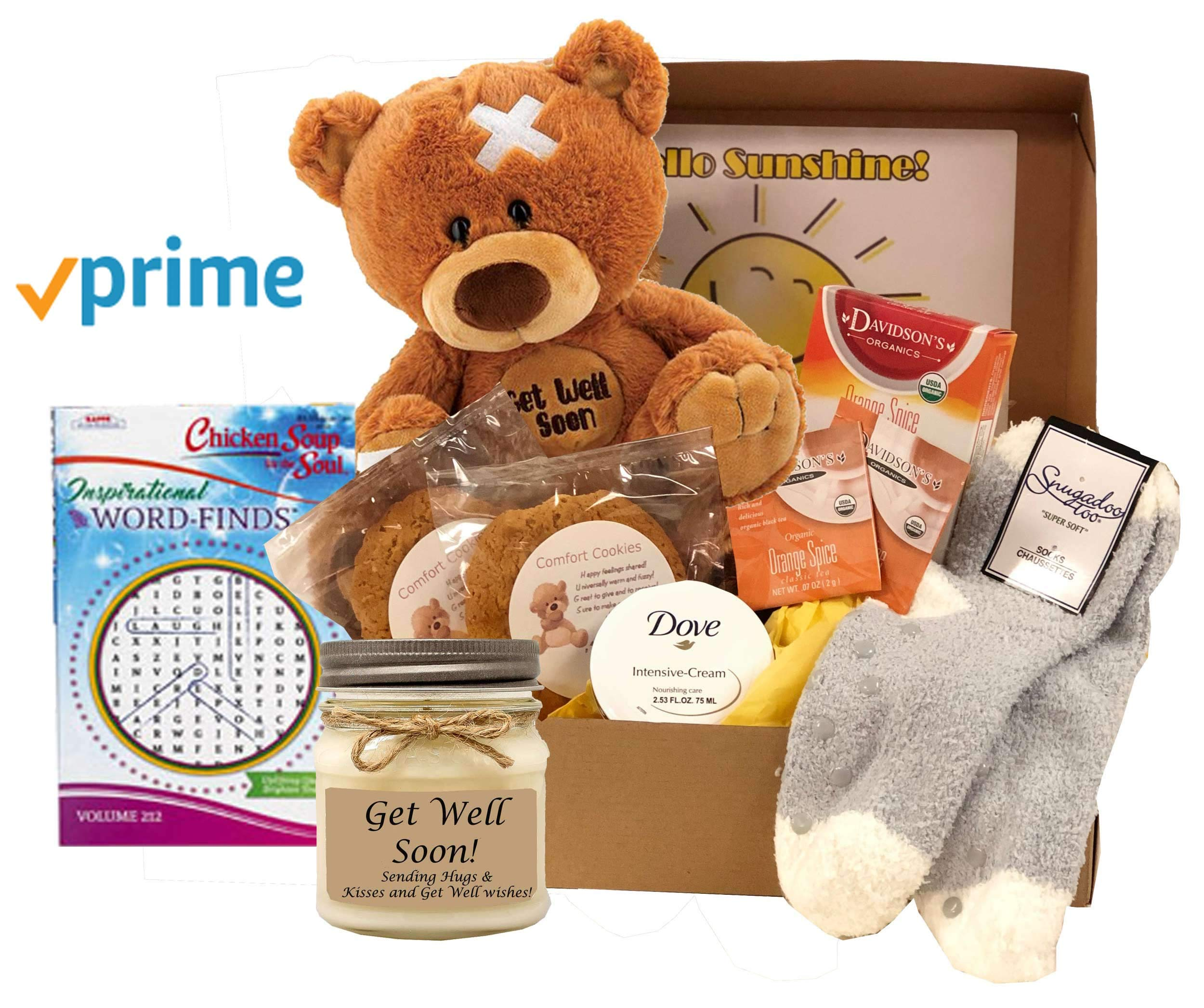 Get Well Gift of Sunshine - Get Well Gift For Women - Prime by GiftBasketsAssociates