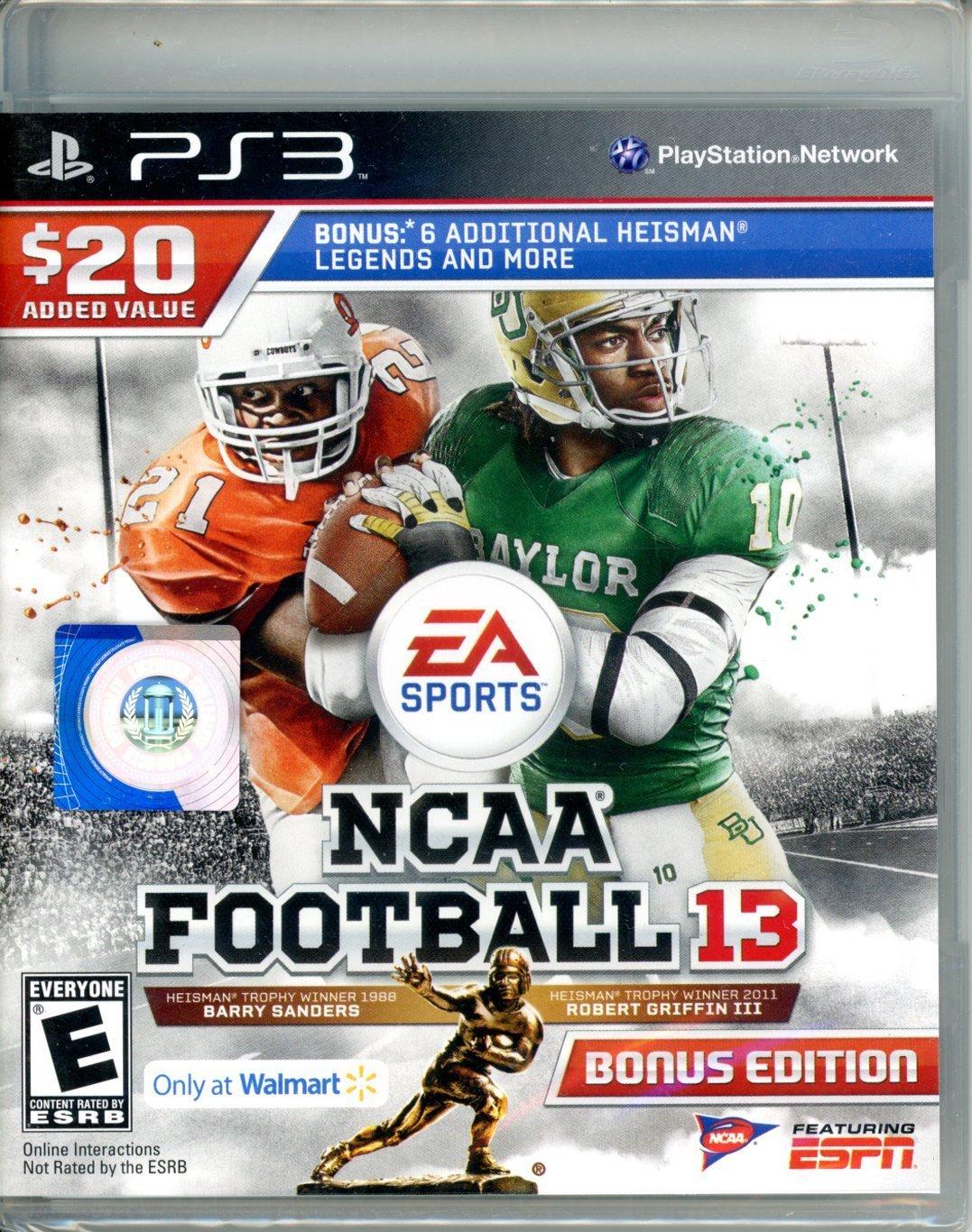 NCAA B06Y5TW11S Football 13 Bonus Edition - - 6 Edition Heisman Legends [並行輸入品] B06Y5TW11S, 坂戸市:eb0bd071 --- m2cweb.com