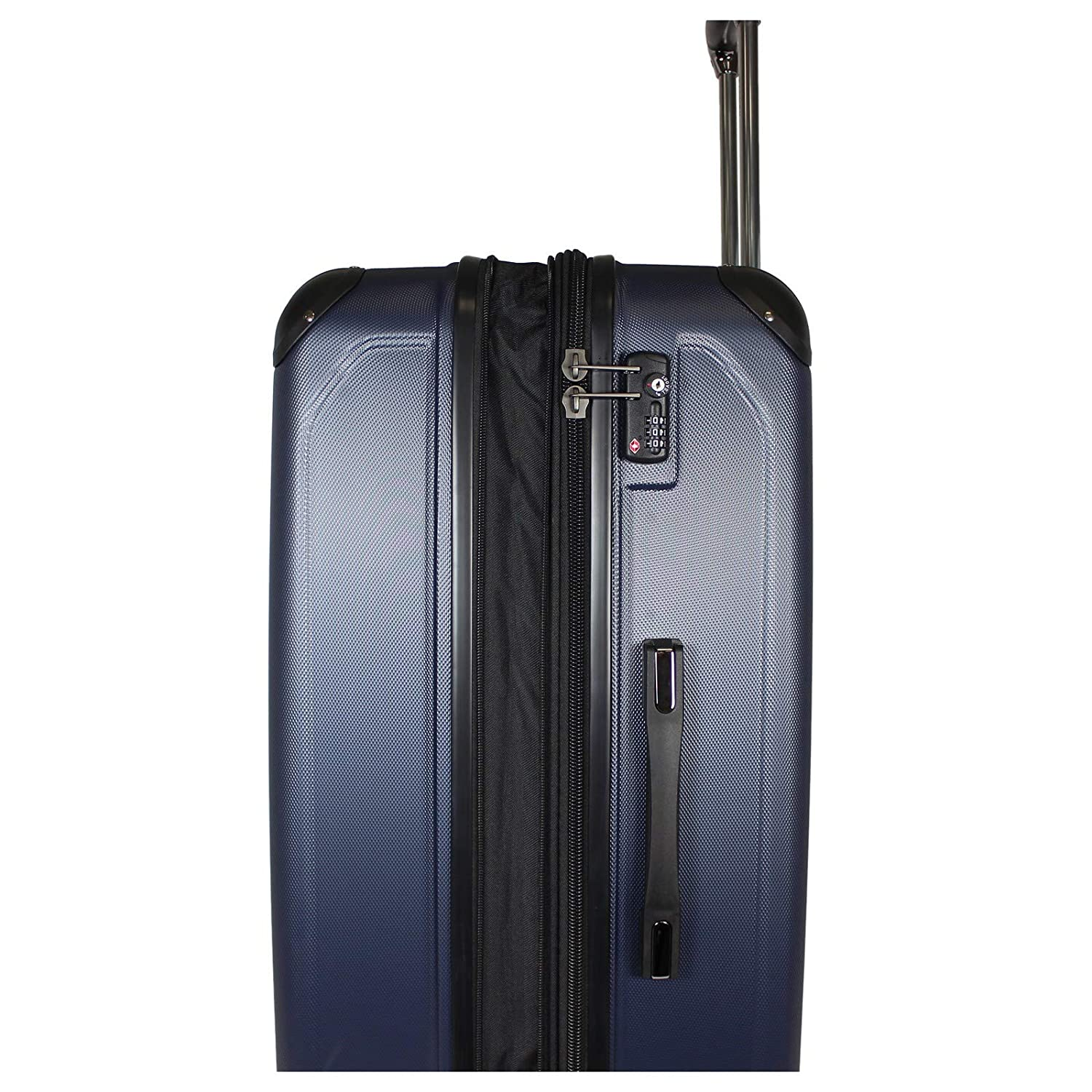 Kenneth Cole Reaction 8 Wheelin Expandable Luggage Spinner Suitcase 20 Red