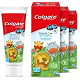 Colgate My First Infant & Toddler Fluoride-Free Toothpaste, Age 0-2, 40 mL - 3 Count (Pack of 1)