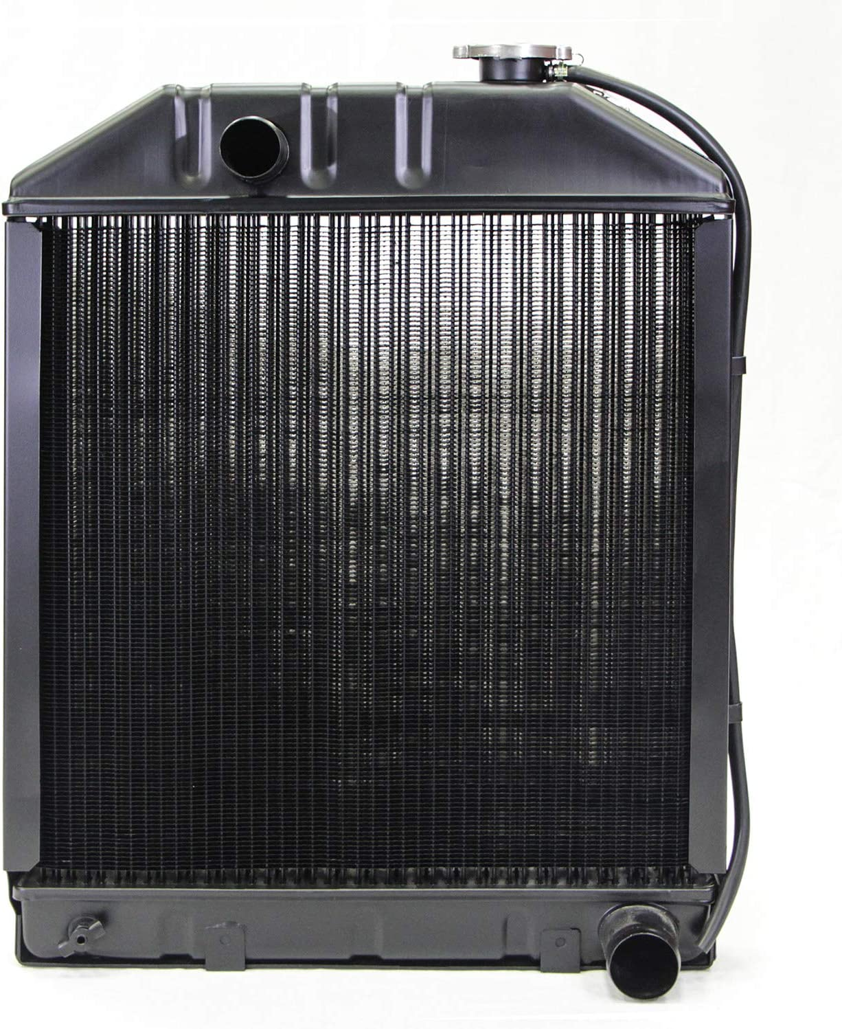 NEW Replacement Radiator w/Cap For Ford Tractor 5000 5100 5600 6600 C7NN8005 C7NN8005L C7NN805E (24075AM)