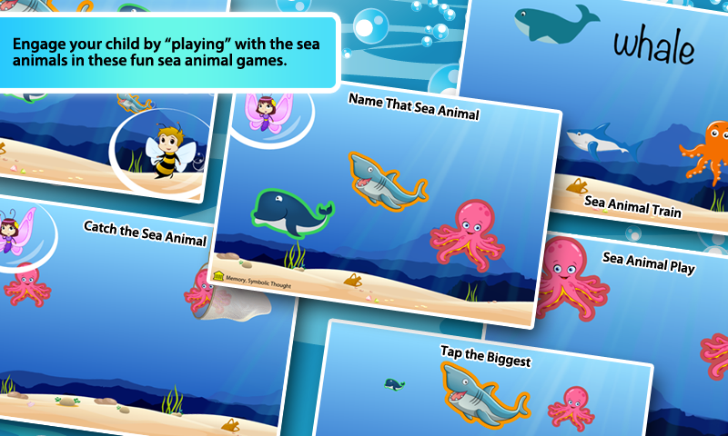 Amazon.com: First Words for Toddlers 3: Sea Animals: Appstore for ...