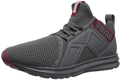 d2c1aafaa2b PUMA Men s Enzo Weave Sneaker Iron gate-Pomegranate 7 ...