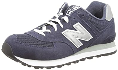 reputable site 6b8e7 afd4c Mens New Balance 574 Suede Lace up Retro Running Classic Sneakers
