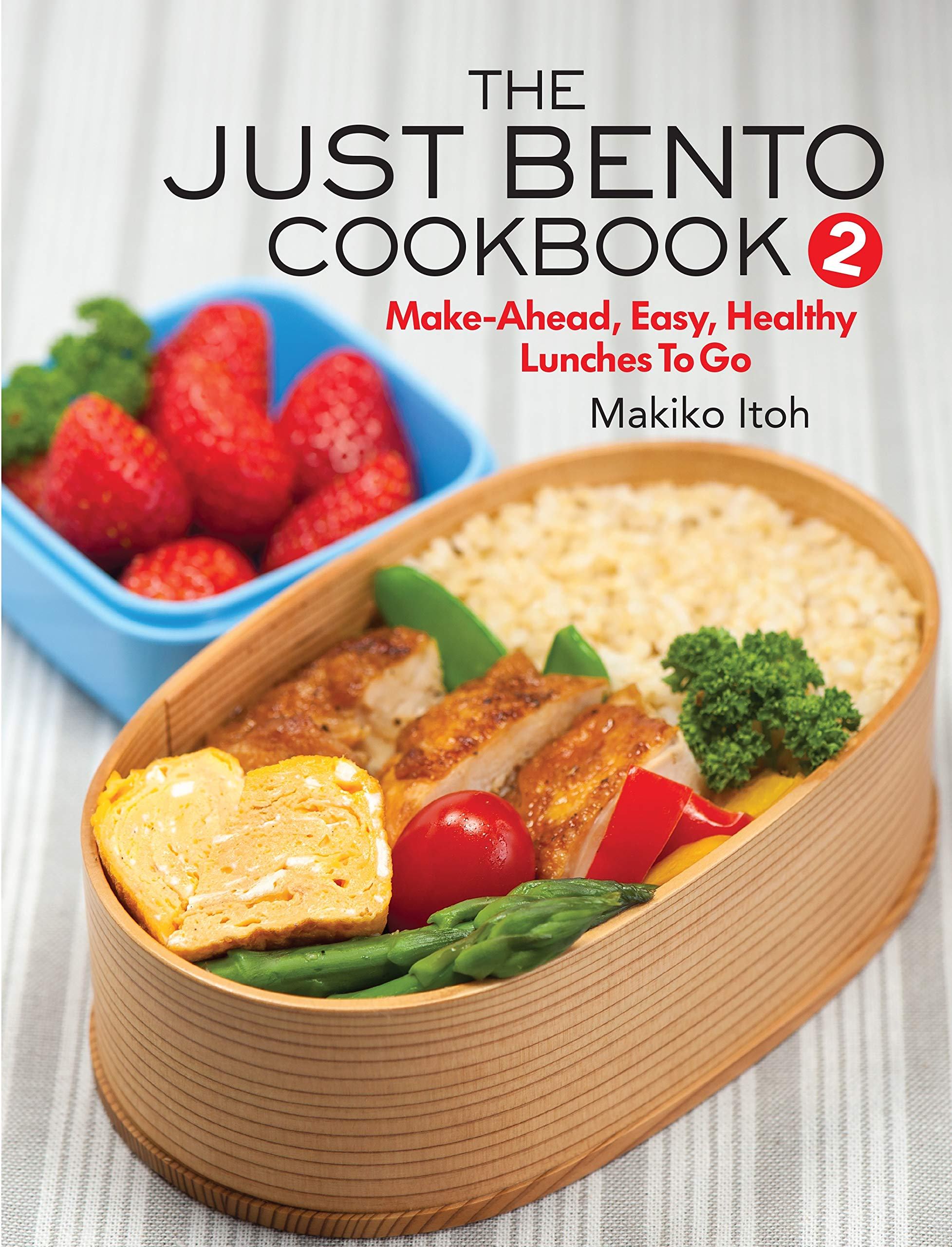Just Bento Cookbook Make Ahead Healthy product image