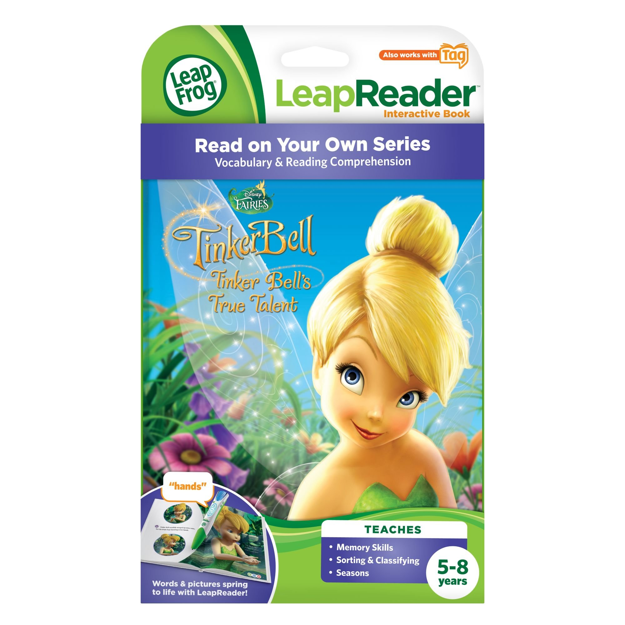 LeapFrog LeapReader Book: Disney Fairies Tinker Bell's True Talent (works with Tag) by LeapFrog (Image #3)