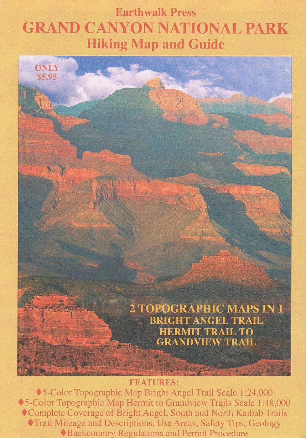 Grand Canyon National Park Map Guide Leo Larson Helen