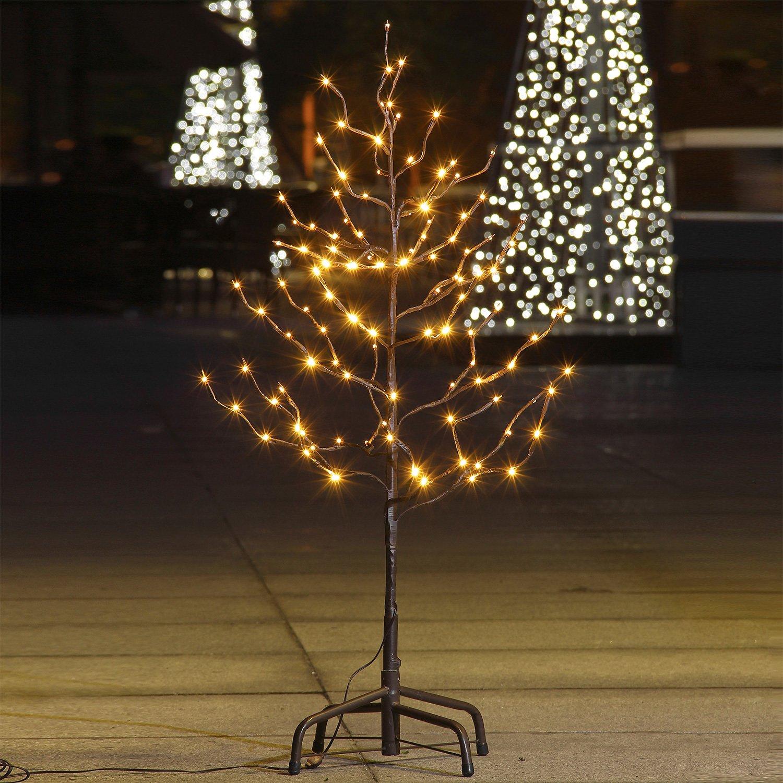Amazon.com: Lightshare 3Ft 112L Lighted Star Light Tree,Warm White ...
