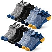 Newdora Calcetines Tobilleros Hombres, 8 Pares Calcetines Para Hombre y Mujer, Calcetines Deportivos Hombre Cortos…