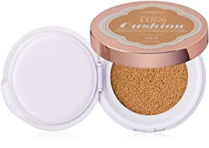 L'Oréal Paris True Match Lumi Cushion Foundation, N.5.5 Perfect Beige, 0.51 oz.