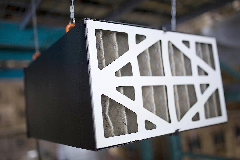 WEN Air Filtration System 3-Spd Remote-Control led Removes Filter Dust Workshop