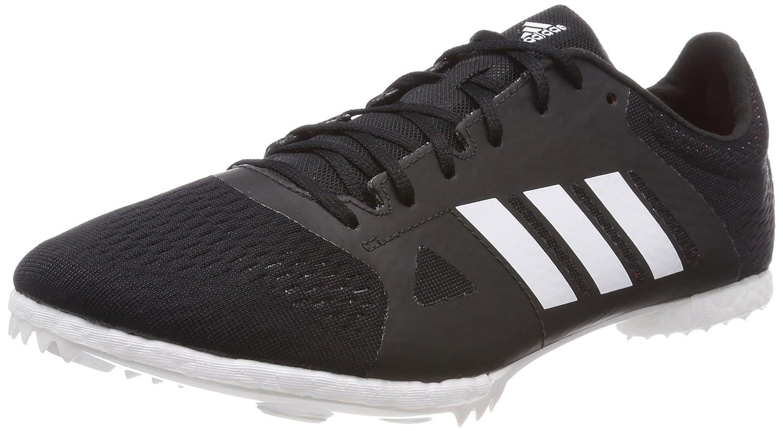 Noir (Negbás   Ftwbla   Naalre 000) 38 2 3 EU adidas Adizero MD, Chaussures d'Athlétisme Mixte Adulte