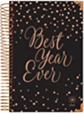 """bloom daily planners 2018 Calendar Year HARD COVER Daily Planner - Passion/Goal Organizer - Monthly and Weekly Datebook Agenda Diary - January 2018 - December 2018 - 6"""" x 8.25"""" - Best Year Ever"""