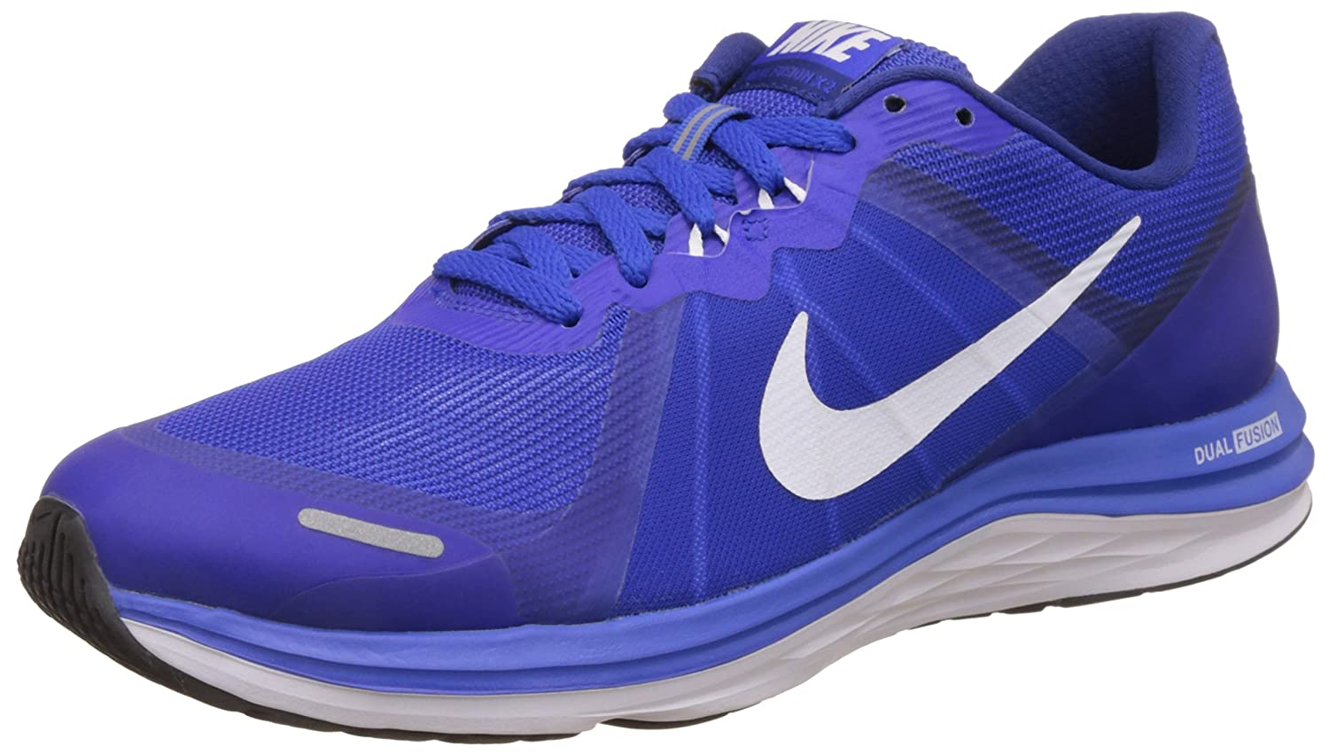 3e758f3862c Nike Men s Dual Fusion X 2 Blue Running Shoes - 6 UK India (40 EU)(7 US)   Buy Online at Low Prices in India - Amazon.in
