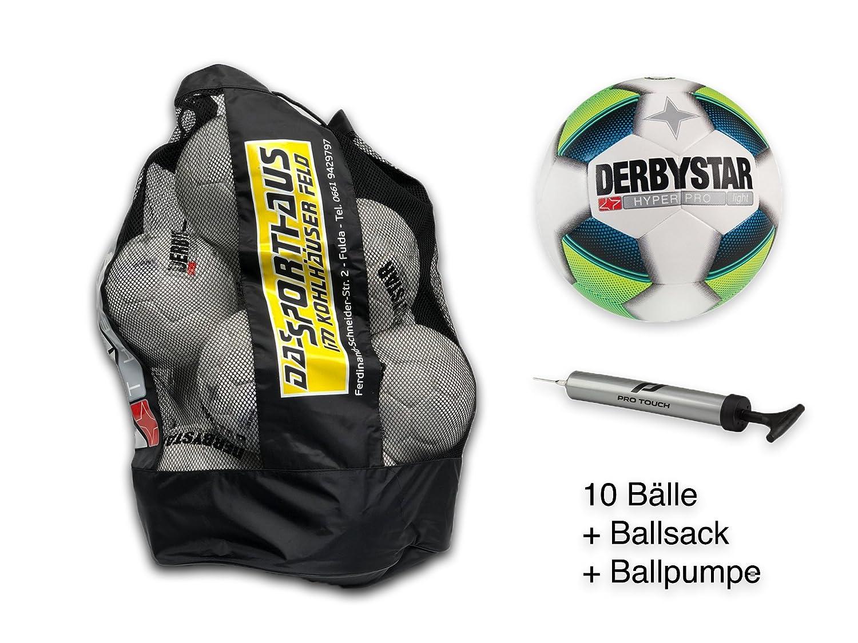 10 x DERBYSTAR Jugendball Ballsack HYPER PRO LIGHT inkl