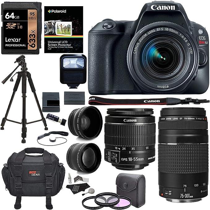 Canon Eos Rebel Sl2 Dslr Kamera Ef S 18 55 Mm Stm Camera Photo