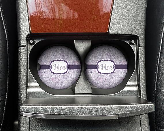 Acuarela Mandala piedra arenisca posavasos, diseño de coche (personalizado): Amazon.es: Hogar