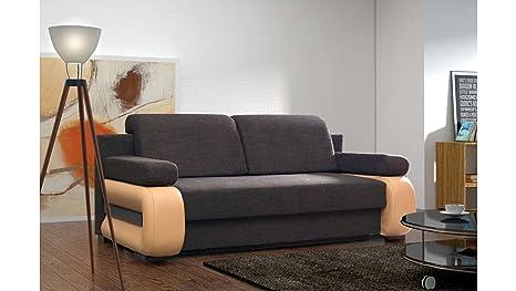 Divano Arancione E Marrone : Justhome laura sofà divano singolo divano letto tessuto a